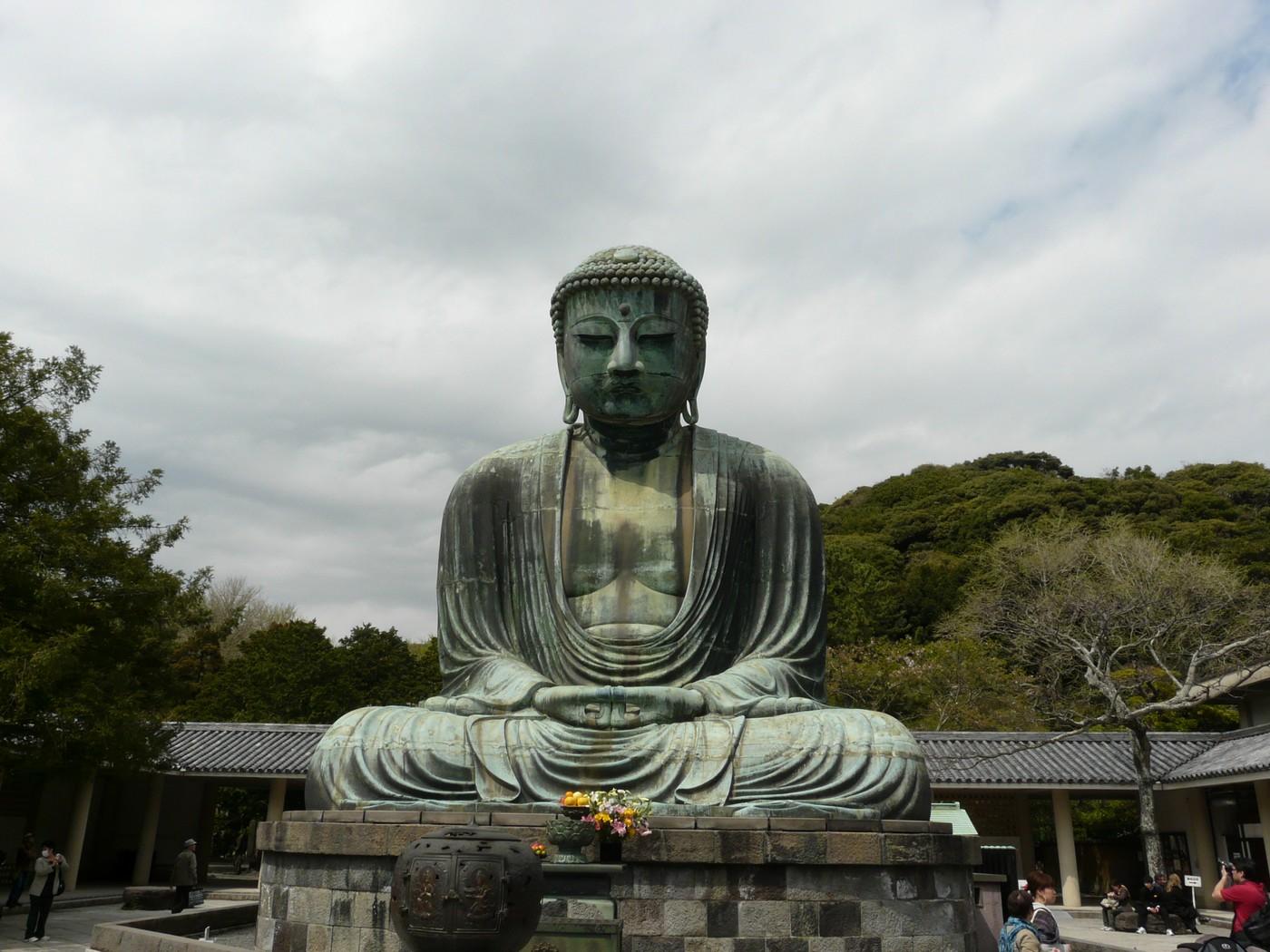 le grand bouddha de kamakura the great buddha of kamakura. Black Bedroom Furniture Sets. Home Design Ideas