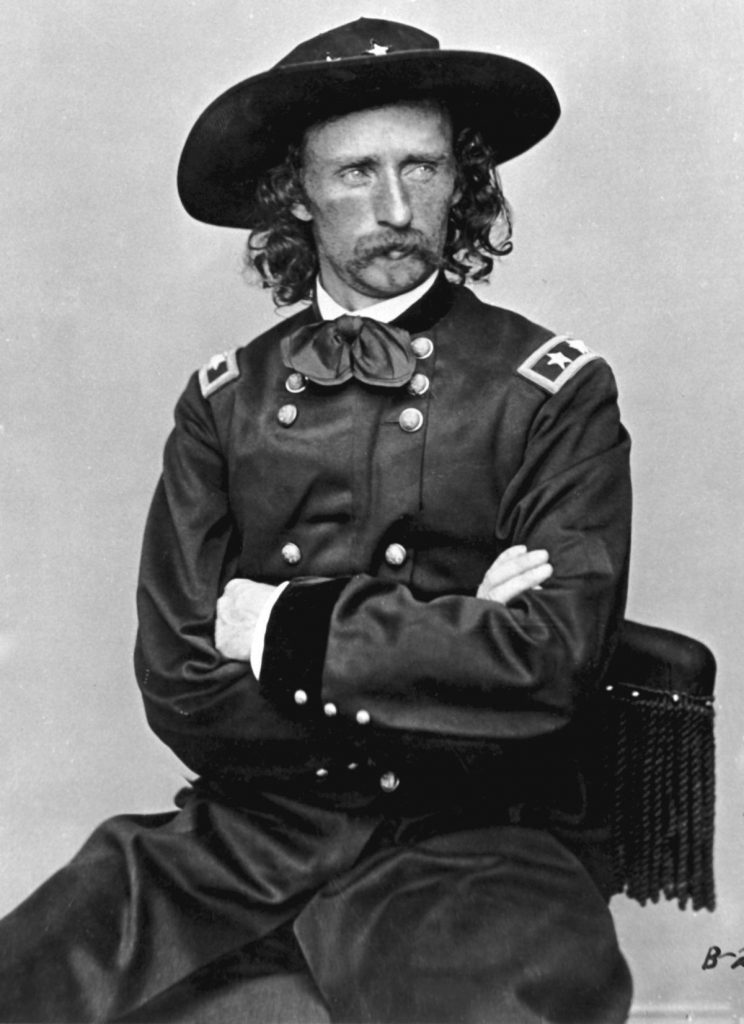 OVH Photos Guerre Secession Generaux George Armstrong Custer